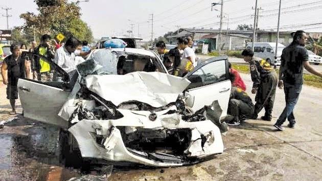 Verkehrsunfall in Thailand