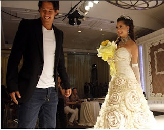 Pernikahan Irfan Bachdim dan Jennifer Kurniawan