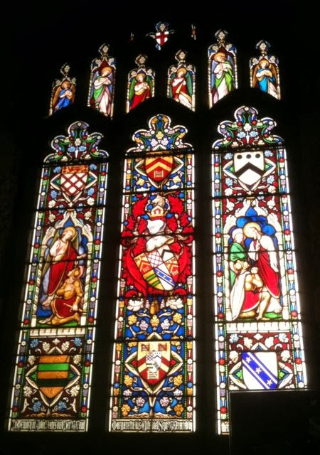 Kendal parish church stained glass