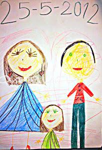 Desenhos da Pulga (seis anos)