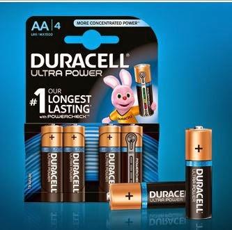 Prueba las pilas Duracell Ultra Power