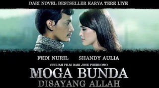 free download lagu mp3 ost film Moga Bunda Disayang Allah - Melly Goeslaw + syair dan Lirik serta gambar kunci chord gitar lengkap