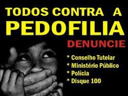 PEDOFILIA O CRIME!