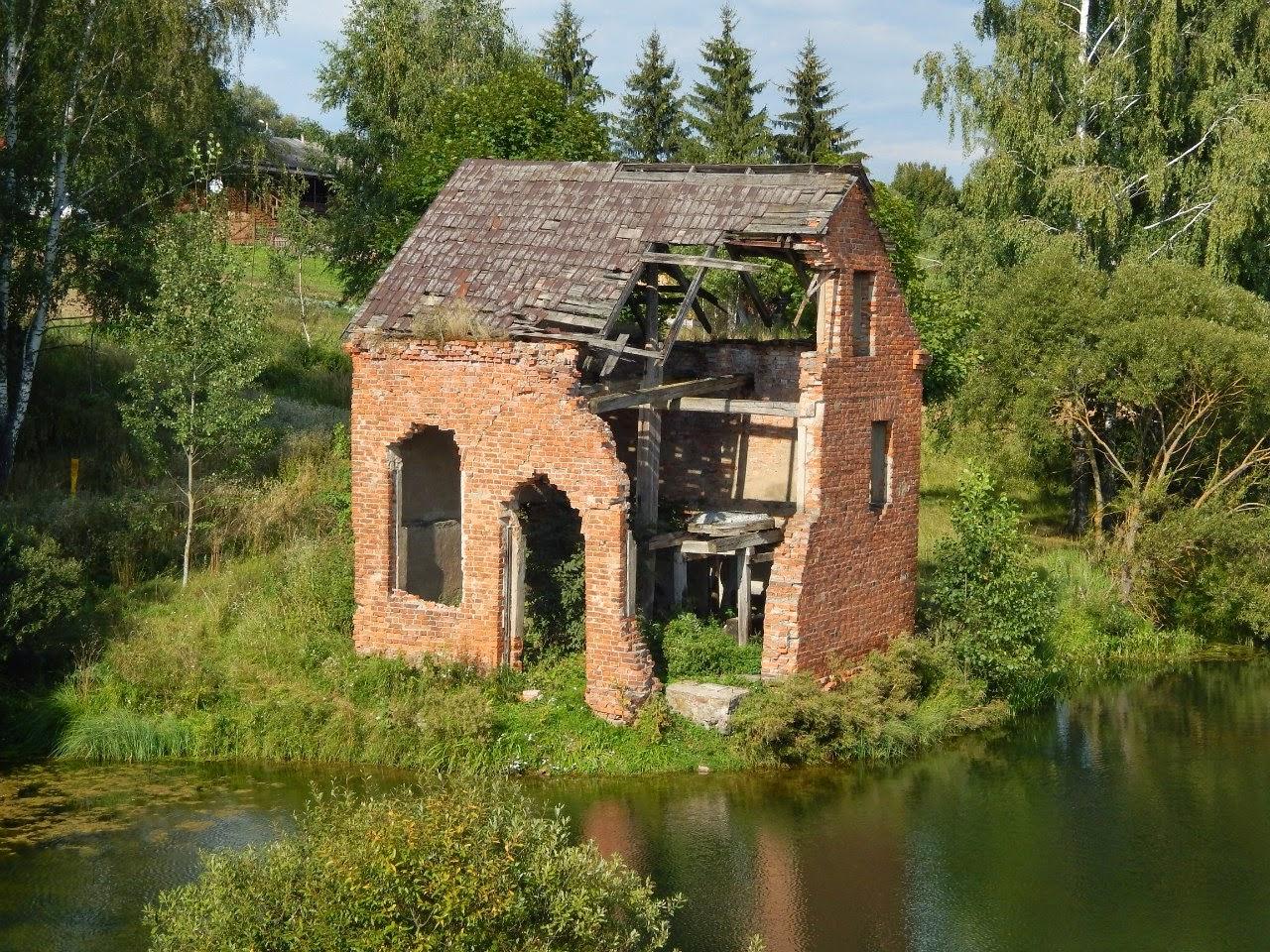 Старая мельница в Рясно.