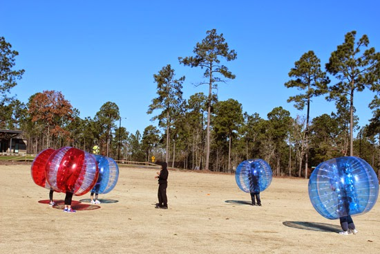 The new game: Bubble Soccer