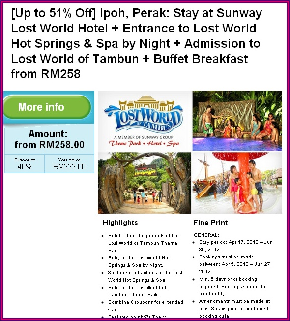 Medic Tony Homestay @ Lost World of Tambun
