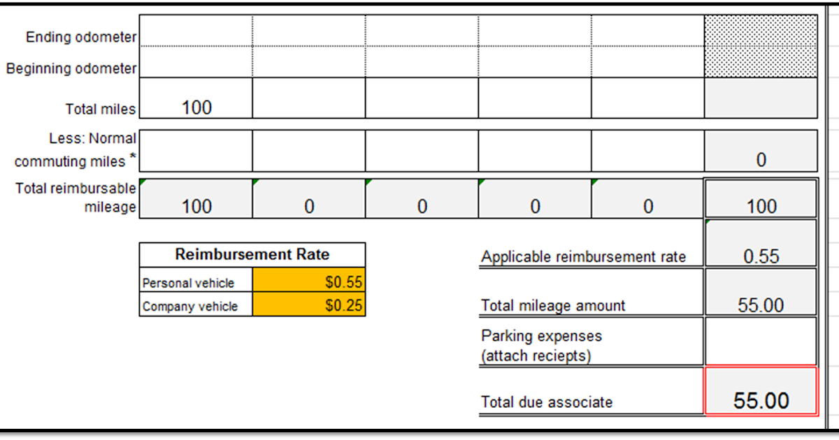 Excel Spreadsheets Help Mileage Reimbursement Form Template – Mileage Reimbursement Forms