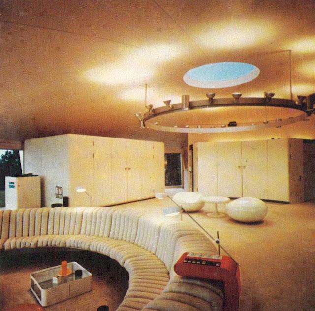 Space-Design der Villa Spies