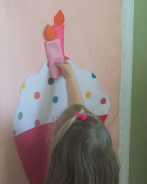 unique birthday gifts for kids: pin the candle on the cupcake sewing tutorial