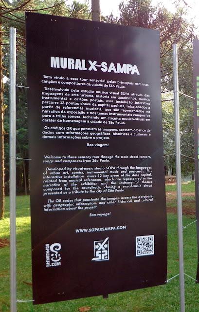 EXPOSIÇÃO X-SAMPA NO PARQUE DO IBIRAPUERA