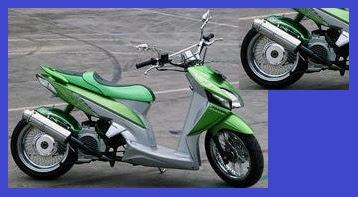 Honda Vario _ Model Racing Lowrider _ Gambar Foto Modifikasi Motor Terbaru 1.jpg