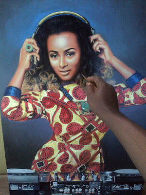http://awizzy.net/photo-realistic-painting-of-dj-cuppy-femi-otedolas-daughter/