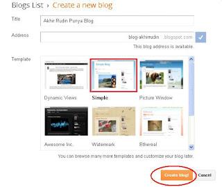 Selamat blog anda sudah berhasil di buat. Untuk mengisi artikel di