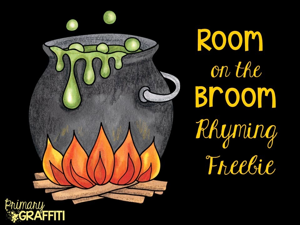 http://www.teacherspayteachers.com/Product/Room-on-the-Broom-Rhyming-Freebie-1483275