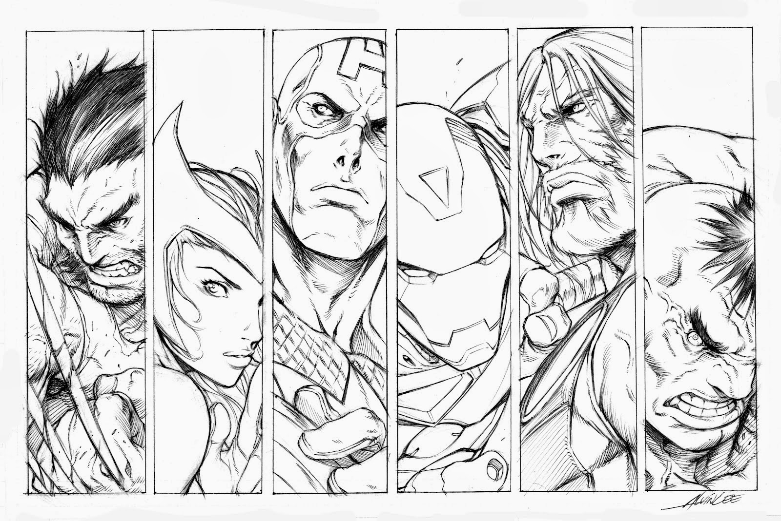 imagens para colorir dos vingadores - Desenhos de Avengers Os Vingadores para colorir jogos