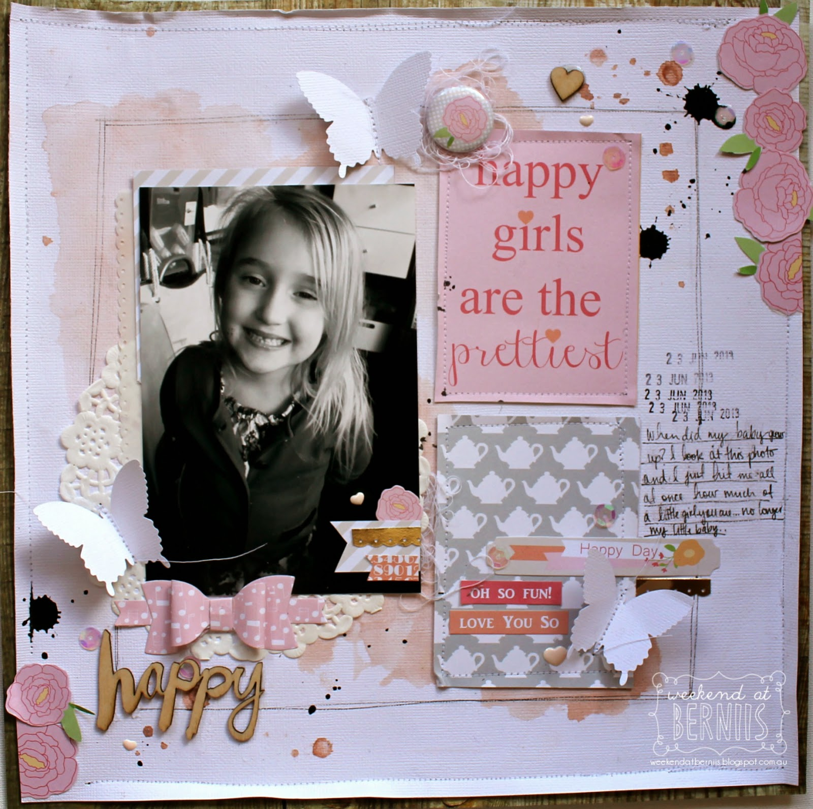 Happy layout by Bernii Miller