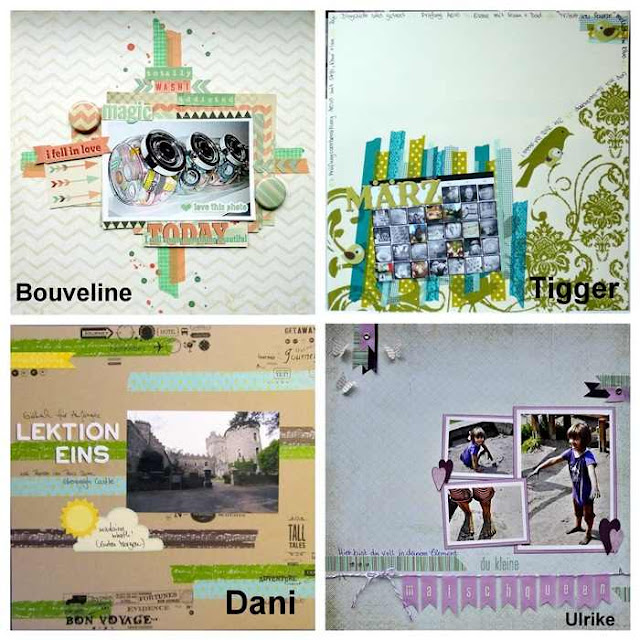 Material der Woche | Masking Tape | Scrapbooking Layouts