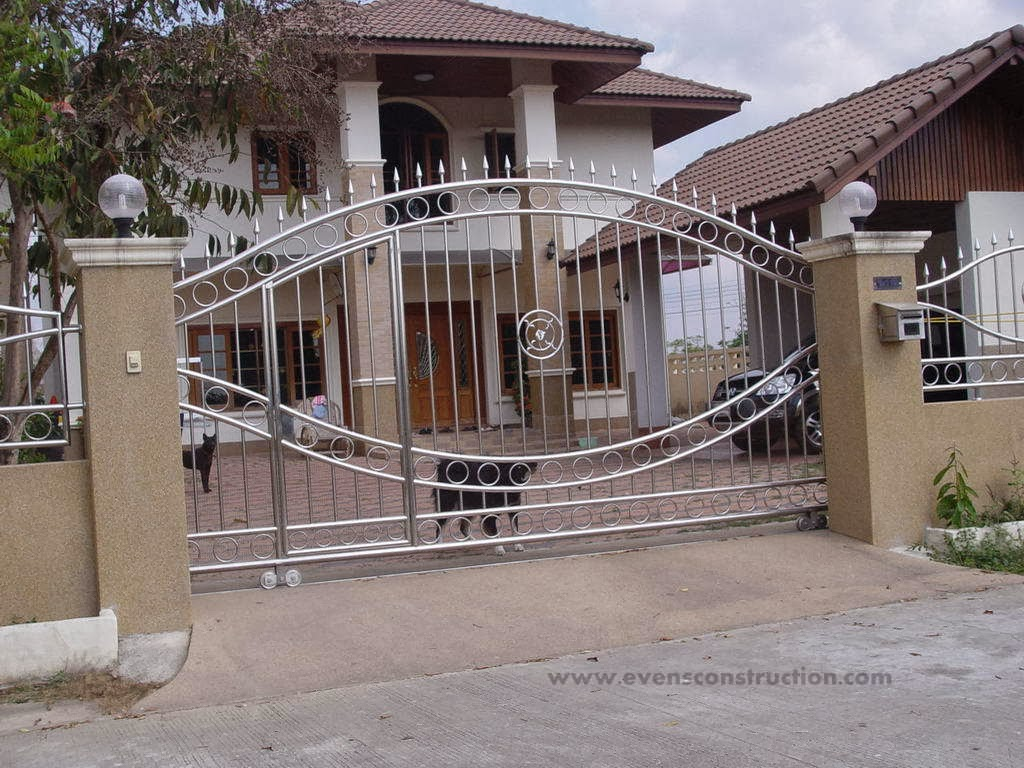 Evens construction pvt ltd compound walls and gates for Compound home designs
