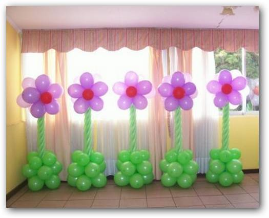 Vestidos for Decoracion simple con globos