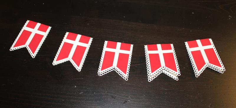 4 forskellige flag
