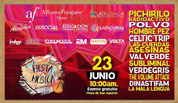 Fiesta de la Música Latacunga 2018