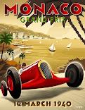 Monaco 1940 Poster