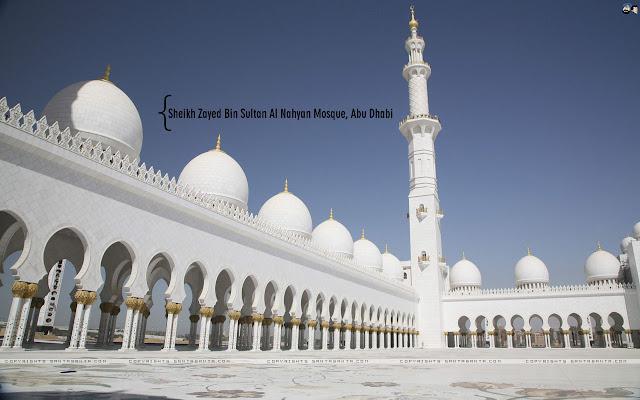 Sheikh Zayed Bin Sultan Al Nahyan Mosque Wallpapers