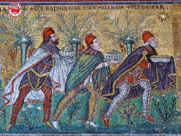 Rávena - Mosaico en Basilica di San Apollinare Nuovo