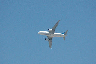 Air Namibia A320 Over Windhoek