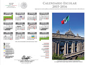 Calendario Ciclo Escolar 2015-2016