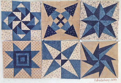 Miniature Quilt Blocks - Quilt Room Free BOM