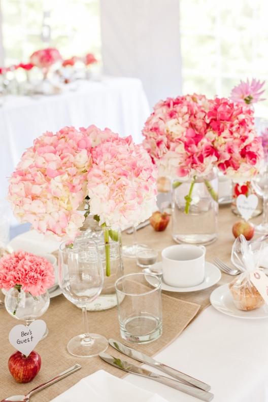 ramo de hortensias para boda