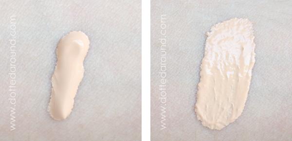 Nars tinted moisturizer swatch