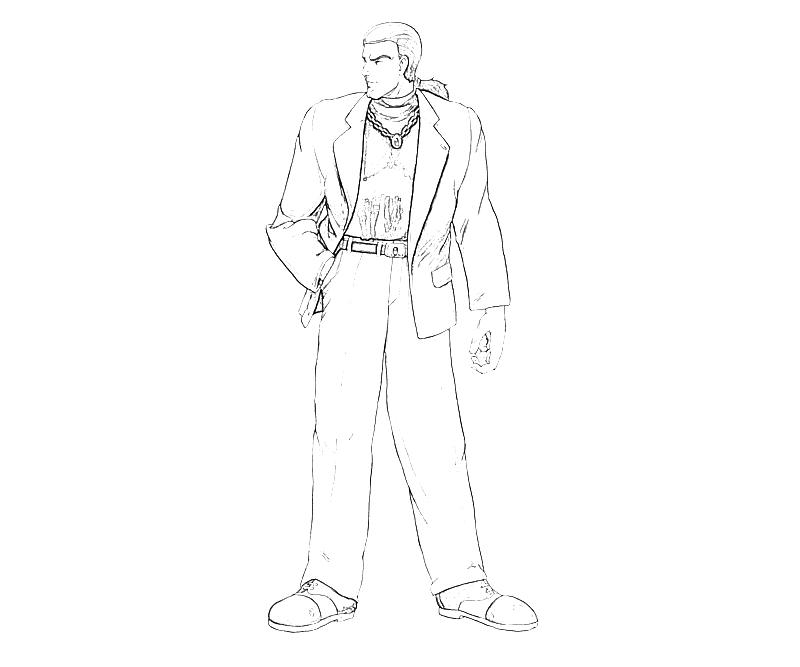 printable-king-of-fighters-robert-garcia_ction-coloring-pages