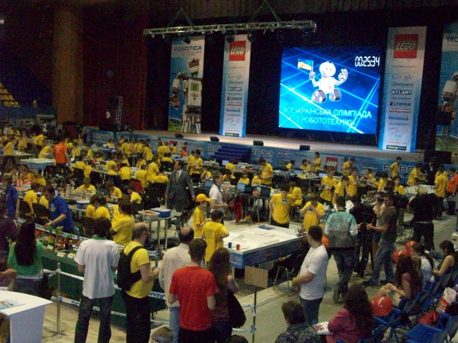 Конкурс по робототехнике для школьников 2017