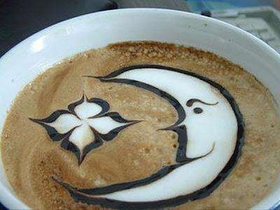 art gallery in a cup of coffee15 Koleksi Gambar Kesenian Corak Air Kopi dalam Gelas
