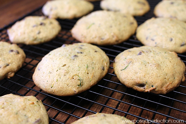 These Scrumptiously Soft Zucchini Cookies are going to change how your kids feel about vegetables!