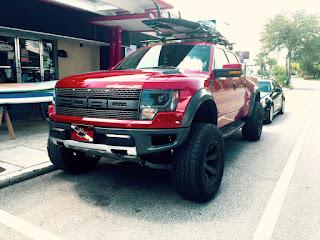 Ford Truck Paddleboard Roof Rack Roush
