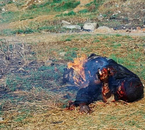 Tragis, Main Hakim Sendiri Orang Ini Disiksa Dan Dibakar [ www.BlogApaAja.com ]