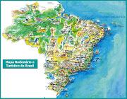 A IMPORTÂNCIA DO TURISMO PARA O BRASIL (mapa brasil rod)