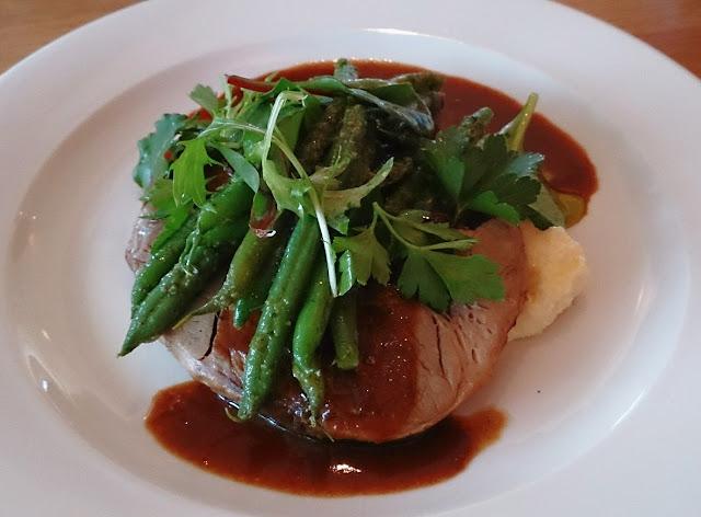 Greenpoint Brasserie, Domaine Chandon, Winery, Coldstream, Yarra Valley, roast pork