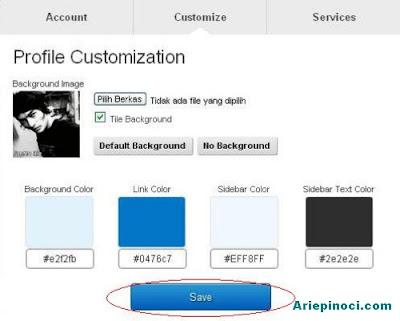 Heello Profile Customization
