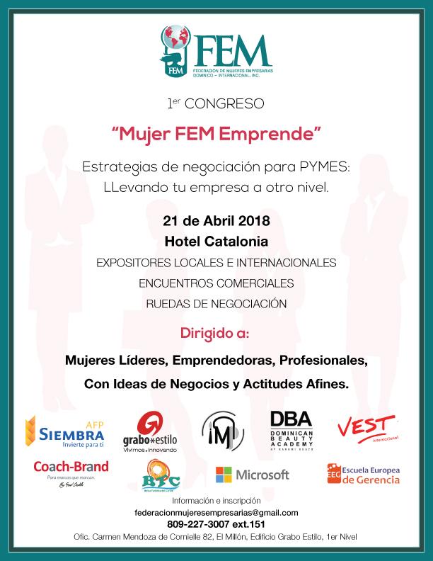 Primer Congreso Mujer FEM Emprende