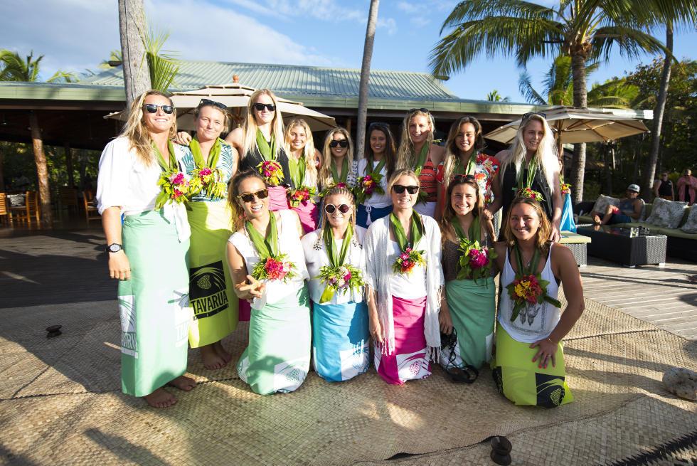 35 Opening Ceremony 2015 Fiji Womens Pro Fotos WSL Kirstin