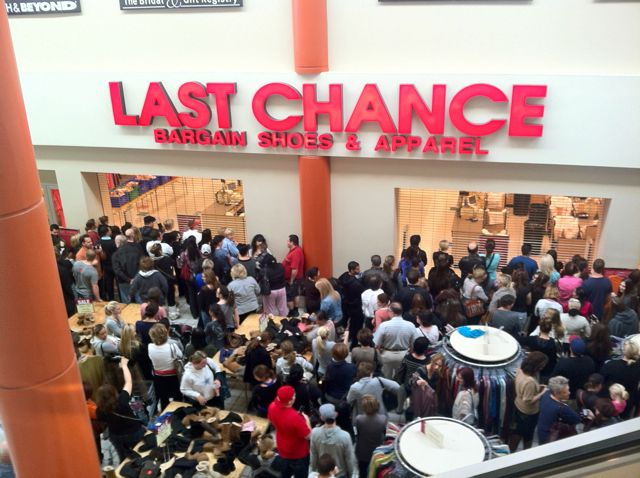 It was Lois who introduced me to Last Chance, the one of its kind ...