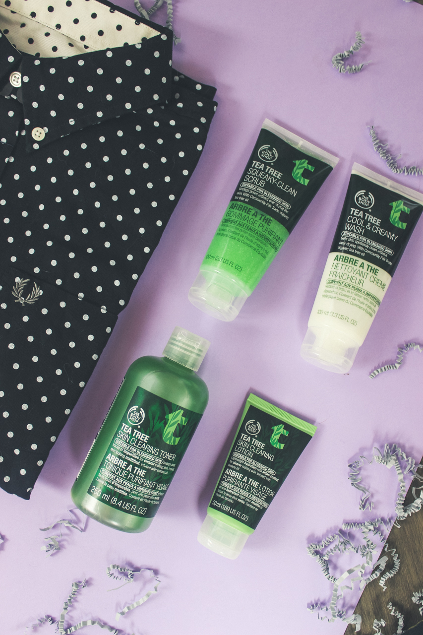 The Body Shop Tea Tree Skincare Set