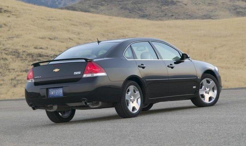 2009 chevrolet impala impala ss car specifications. Black Bedroom Furniture Sets. Home Design Ideas