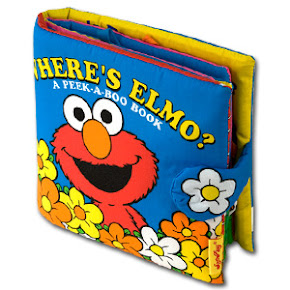 Where's Elmo? A Peek A Boo Book
