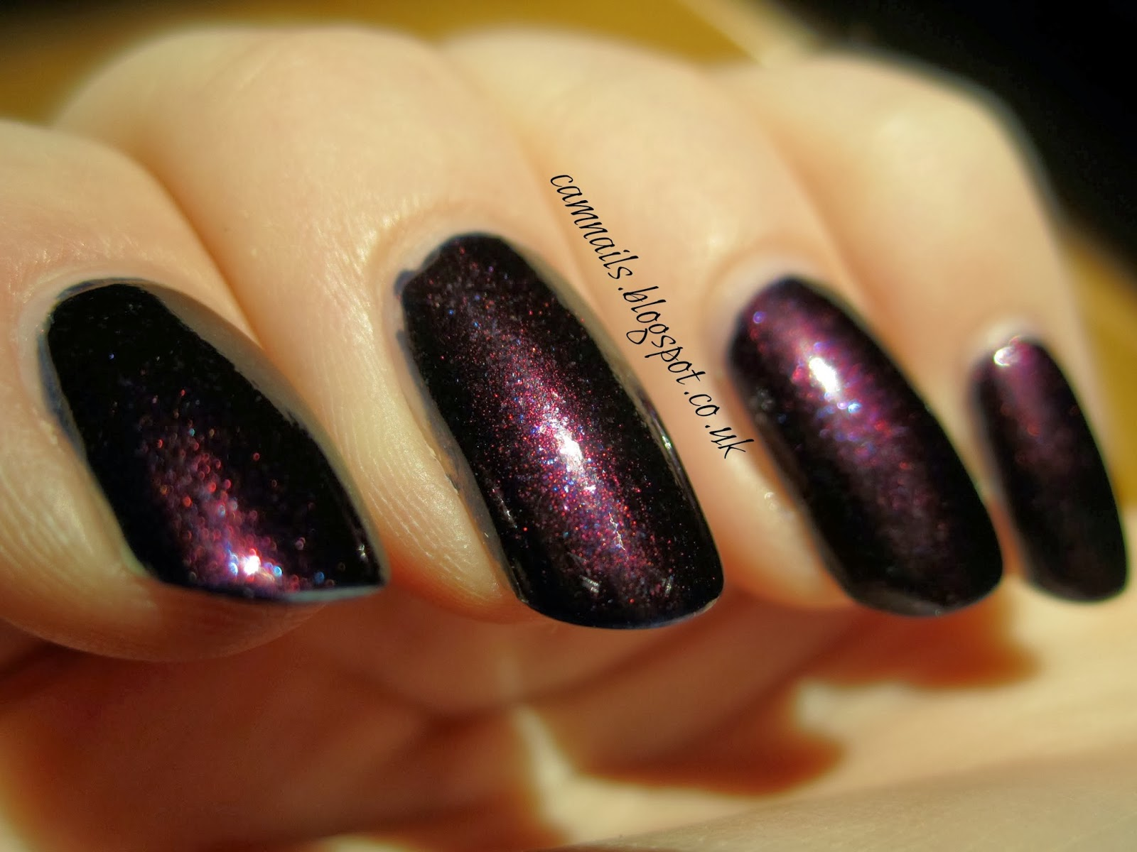 Cambridge Nails: No 7 Galaxy, The Chanel dupe
