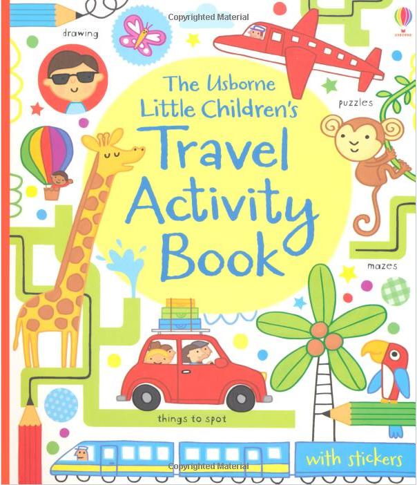 Kids Book Front Cover : Laurenade the usborne little children s travel activity book